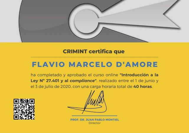 Certificado-D'amore