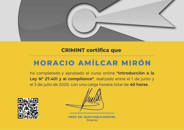 Certificado-Mirón