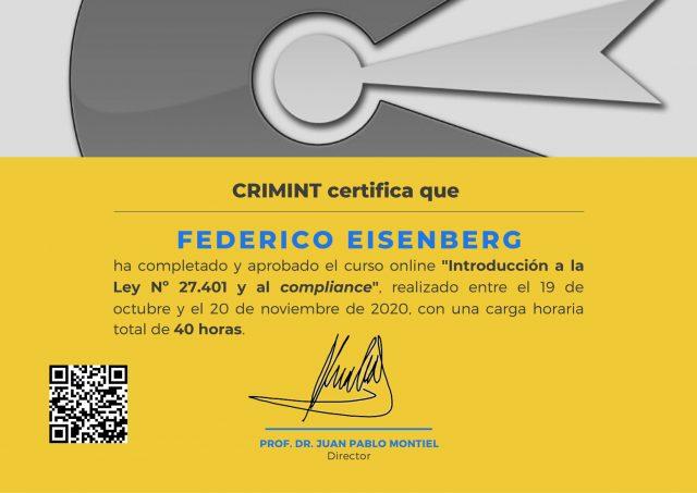 Certificado-Eisenberg