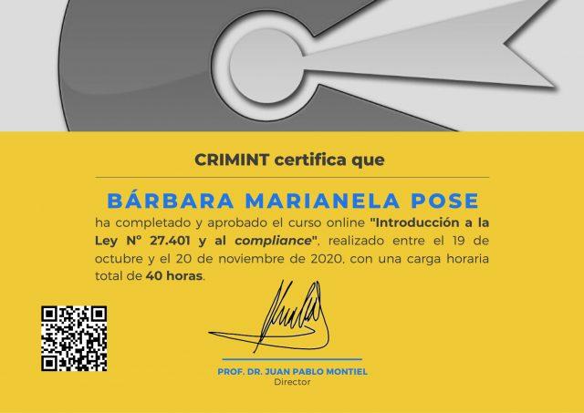 Certificado-Pose