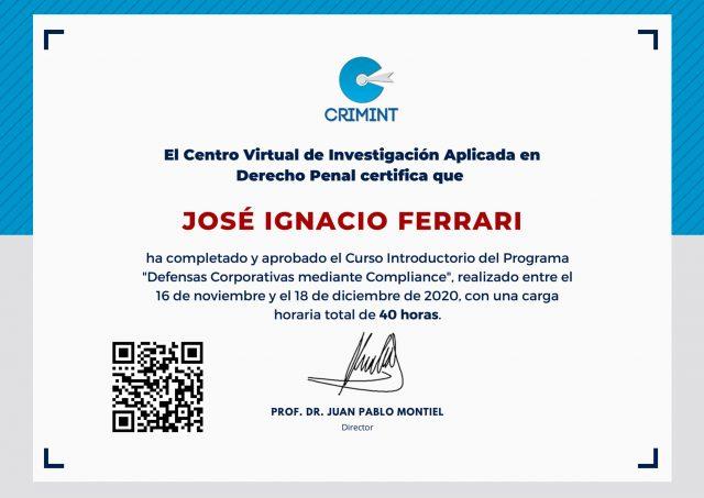 Certificado-Ferrari